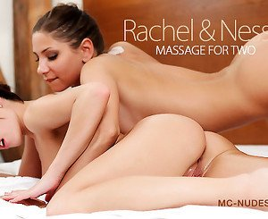 Nessa in Massage For Two - MCNudes