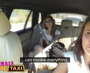 FemaleFakeTaxi Horny filthy