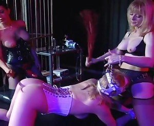 Anna Double Teamed By Strap-on