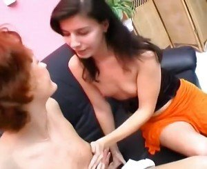 Redhead Milf Has Her Tiny Tits And