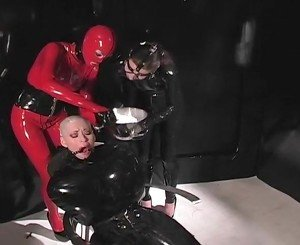 Helpless Slave Has Her Hair Shaved