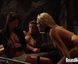 Lesbian Slaves Humiliated And Used