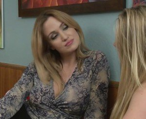 Angela Sommers seducing AJ